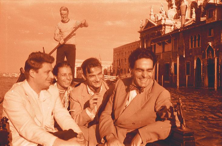 Il Quartetto Italiano a Venezia (settembre 1958)